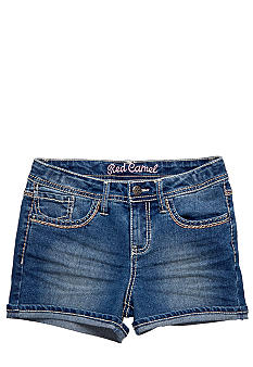 Red Camel Girls Denim short with tonal stitching Girls 7-16