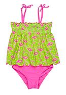 J Khaki™ Flamingo Two Piece Girls 4-6X