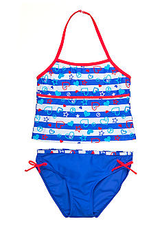 J Khaki 2-Piece American Idol Swimsuit Girls 7-16