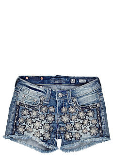 Miss Me Girls Daisy Denim Shorts Girls 7-16