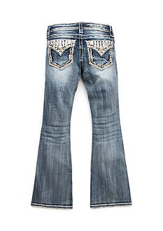 Miss Me Girls Tribal Embroidered Bootcut Jeans Girls 7-16