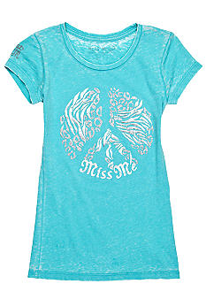 Miss Me Girls Peace Graphic Tee Girls 7-16