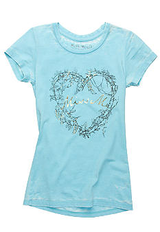 Miss Me Girls Miss Me Heart Tee Girls 7-16