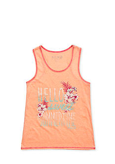 Miss Me Girls Hello Summer Tank Top Girls 7-16