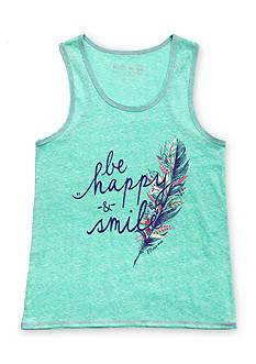 Miss Me Girls 'Be Happy & Smile' Tank Top Girls 7-16