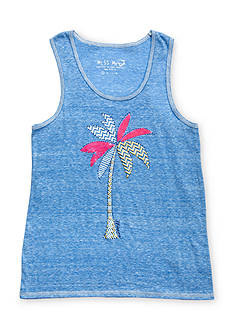 Miss Me Girls Printed Palm Tree Tank Top Girls 7-16