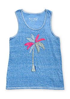 Miss Me Girls Printed Palm Tree Tank Top Girls 7-16