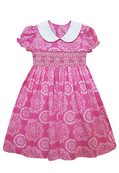 Marmellata Sprial Smock Dress Girls 4-6X