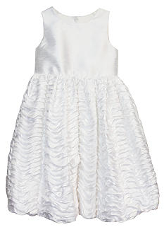 Ruffle Bubble Skirt Flower Girl Dress Girls 4-6X - Online Only