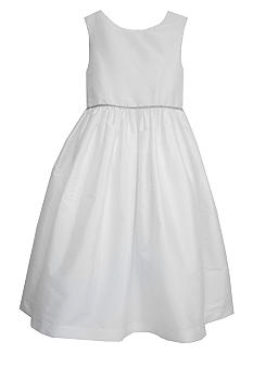 Pippa & Julie Taffeta Flower Girl Dress Girls 4-6X - Online Only