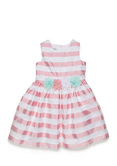Marmellata Burnout Ribbon Dress Girls 4-6x