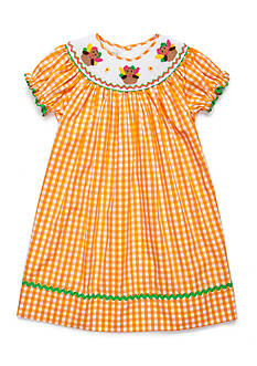 Marmellata Turkey Smock Dress Girls 4-6x