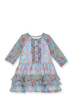 Marmellata Chiffon Floral Dress Girls