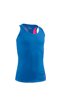 Under Armour Blue Victory Tank Girls 7-16