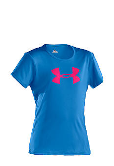 Under Armour Under Armour SS Big Logo Tech Tee Girls 7-16