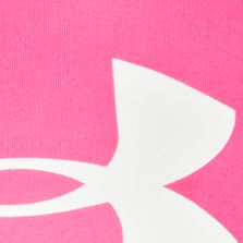 Girls Graphic Tees: Chaos Under Armour Big Logo Tee Girls 7-16