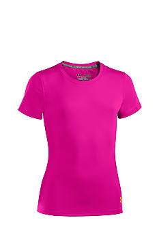 Under Armour Fitted Heatgear Tee Girls 7-16