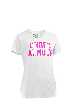 Under Armour Logo Tee Girls 7-16