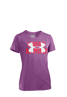 Under Armour Slub Logo Tee Girls 7-16