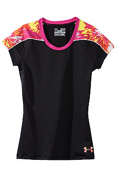 Under Armour Fitted Novelty Tee Girls 7-16