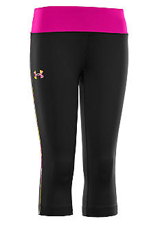 Under Armour Fitted Novelty Capri Girls 7-16