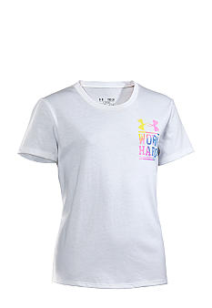 Under Armour Under Armour Play Hard Graphic Tee Girls 7-16
