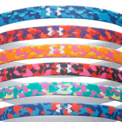 Girls 7-16 Size Activewear: Assorted Under Armour Graphic Words Headband Girls 7-16