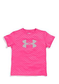 Under Armour® Big Logo Embossed Tee Girls 7-16