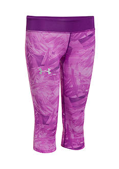 Under Armour HeatGear® Alpha Printed Capris Girls 7-16