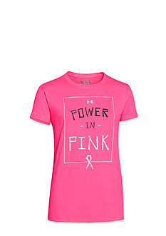 Under Armour® Power in Pink Graphic Tee Shirt Girls 7-16