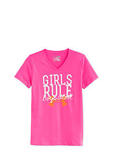Under Armour® Girls Rule Glow Tee Girls 7-16