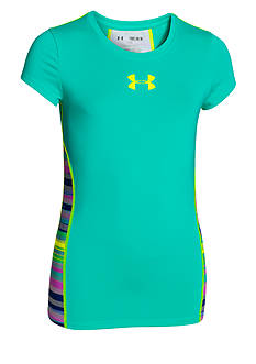 Under Armour Alpha Short Sleeve Tee Shirt Girls 7-16