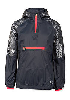 Under Armour Popover Rain Shell Jacket Girls 7-16
