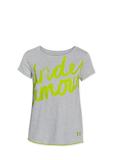 Under Armour Layer Tee Shirt Girls 7-16