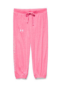 Under Armour Charged Cotton Tri-Blend Cuff Capris Girls 7-16