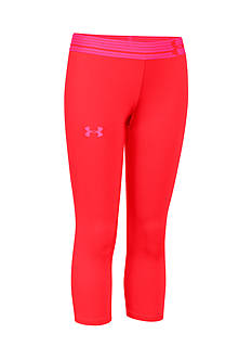 Under Armour HeatGear® Armour Solid Capris Girls 7-16