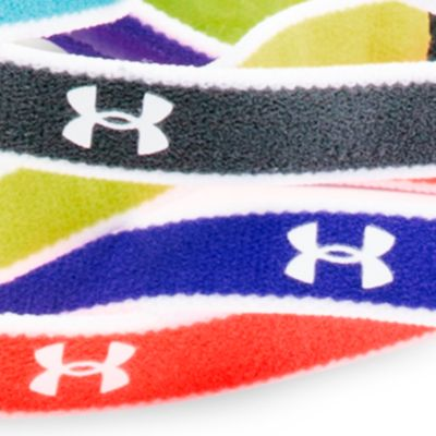 Baby & Kids: Under Armour Activewear: Constellation Purple/Purple Ice/White Under Armour Mini Headbands Girls 7-16