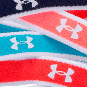 Hair Accessories for Girls: Ultra Blue/After Burn/White Under Armour Mini Headbands Girls 7-16