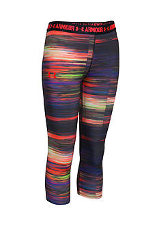 Under Armour Printed Capris Girls 7-16