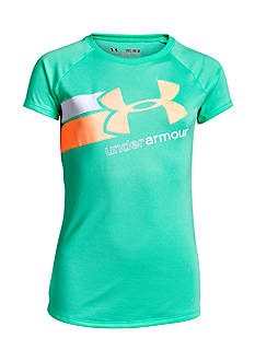 Under Armour Fast Lane Big Logo Top Girls 7-16