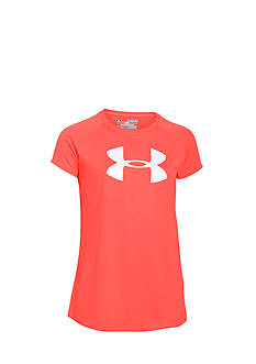 Under Armour Short Sleeve Big Logo Tee Girls 7-16