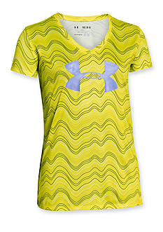 Under Armour Short Sleeve Novelty Big Logo Tee Girls 7-16