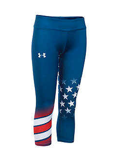 Under Armour USA Pride Capri Leggings Girls 7-16