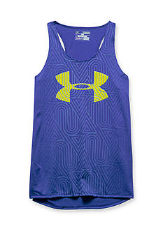 Under Armour Big Logo Run Tank Top Girls 7-16