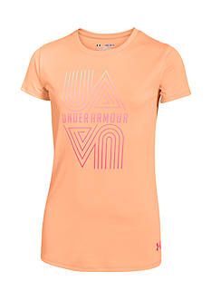Under Armour Logo Graphic Tee Girls 7-16