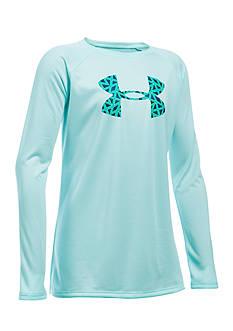 Under Armour Big Logo Long Sleeve Pullover Girls 7-16