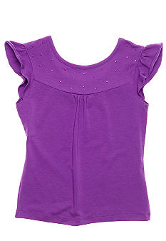 kc parker Embellished Knit Top Girls 7-16