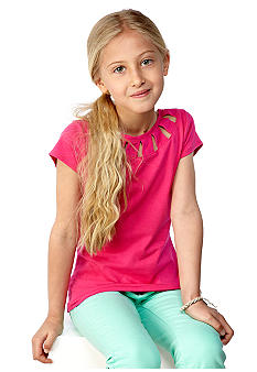 kc parker Cut out Knit Top Girls 7-16