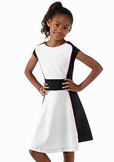 kc parker® Ponte Colorblock Dress Girls 7-16