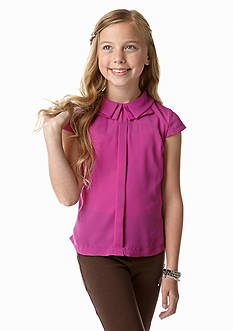 kc parker® Woven Solid Top Girls 7-16